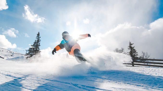 Snowboard i snesky